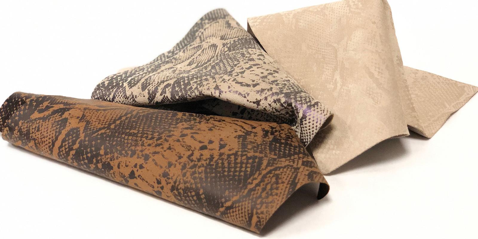 Disegni termoadesivi trasparenti per pelli e tessuti
