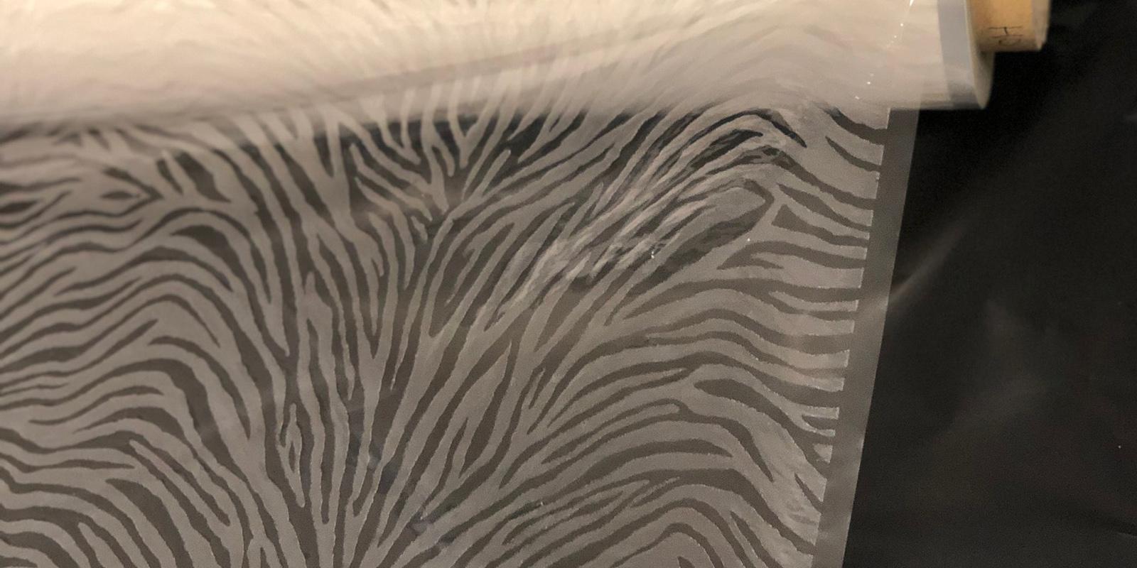 Disegni trasparenti HO per decorazione pelli e tessuti