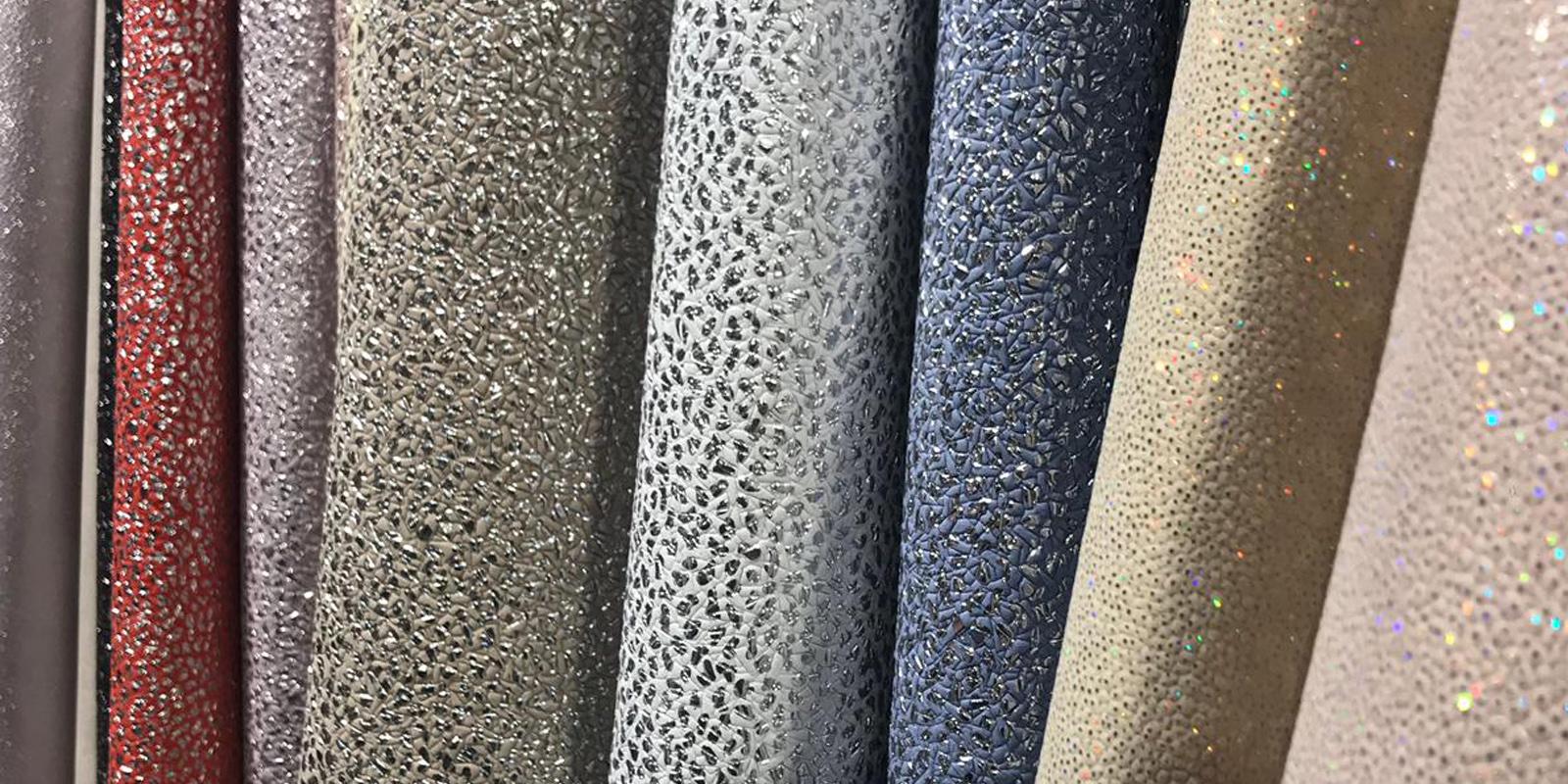 Lamine metallizzate parziali per pelli